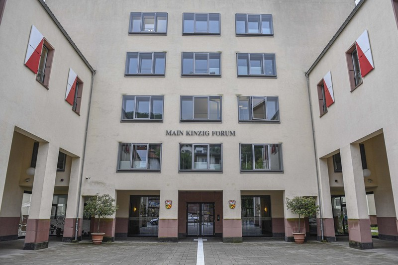 Das Main-Kinzig-Forum in Gelnhausen