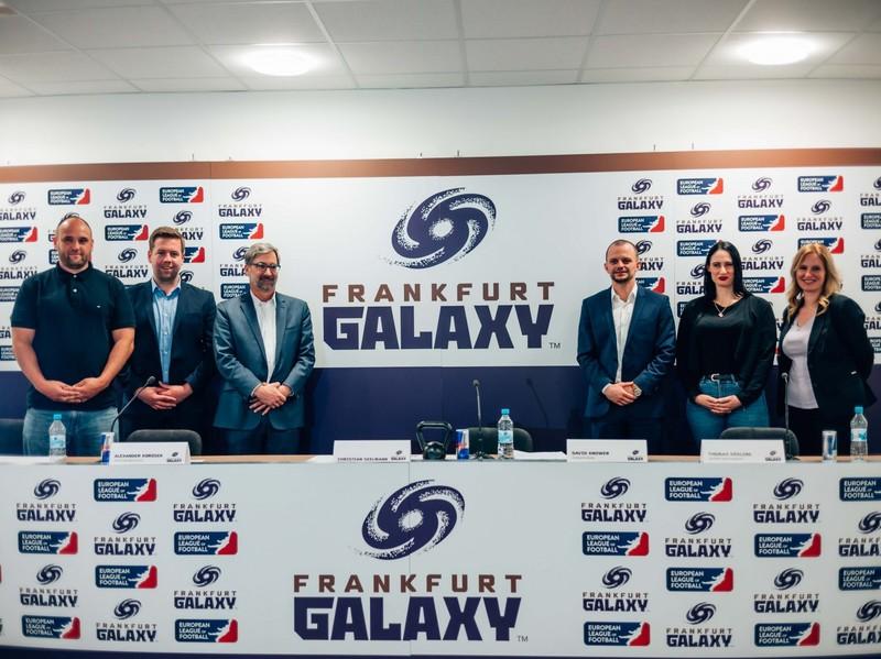 Das neue Führungsteam der Galaxy: v.l.n.r.: Thomas Kösling, Alexander Korosek, David Knower, Eric Reutemann, Jermaine Wolf, Julia Reininger