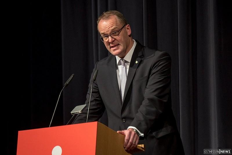 HFV-Präsident Stefan Reuß.