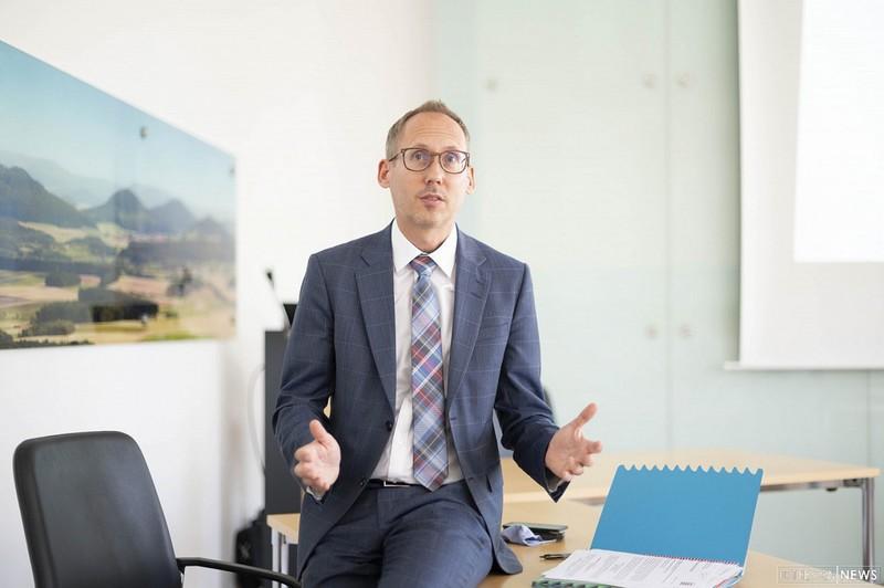 Gesundheitsminister Kai Klose (Grüne).